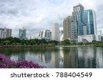 benjakitti park  rainy season... | Shutterstock . vector #788404549