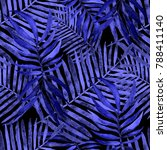 watercolor seamless pattern... | Shutterstock . vector #788411140