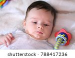 2 months old lovely baby... | Shutterstock . vector #788417236