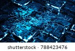 abstract 3d render of... | Shutterstock . vector #788423476