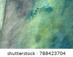 abstract watercolor painted... | Shutterstock . vector #788423704
