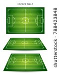 football playing field or... | Shutterstock .eps vector #788423848