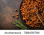 roasted chickpeas with smoked... | Shutterstock . vector #788430784