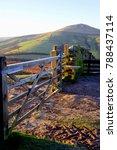 edale  derbyshire  uk. january... | Shutterstock . vector #788437114