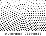 halftone background. digital... | Shutterstock .eps vector #788448658