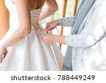 family  wedding day ... | Shutterstock . vector #788449249