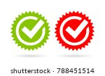 acceptance tick vector icon... | Shutterstock .eps vector #788451514