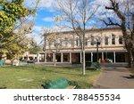 old historical buildings  santa ... | Shutterstock . vector #788455534