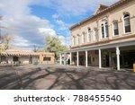old historical buildings  santa ... | Shutterstock . vector #788455540