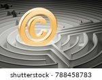 Copyright Symbol Inside...