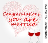 congratulations   you are... | Shutterstock .eps vector #788459590