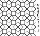 seamless art deco tracery... | Shutterstock .eps vector #788461399