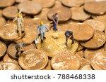 miniature figure people working ... | Shutterstock . vector #788468338
