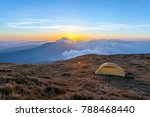 outdoor sport camping with... | Shutterstock . vector #788468440