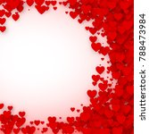 valentines day card cover... | Shutterstock .eps vector #788473984