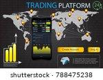 hud ui for business app .trade...