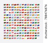 flags of the world   vector | Shutterstock .eps vector #788476876