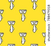 necktie. doodle colored...   Shutterstock .eps vector #788479318