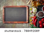 pasta in a composition with... | Shutterstock . vector #788492089