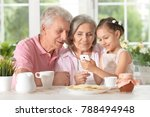 grandparents  with... | Shutterstock . vector #788494948