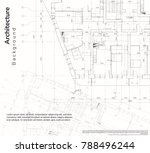 architecture background.... | Shutterstock .eps vector #788496244