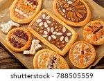 mazurek traditional polish... | Shutterstock . vector #788505559