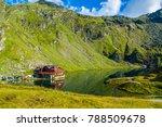 famous balea lake near... | Shutterstock . vector #788509678