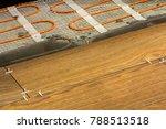 installation of ceramic tiles... | Shutterstock . vector #788513518