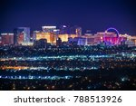 nevada usa city of las vegas... | Shutterstock . vector #788513926