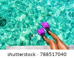 beach vacation travel snorkel... | Shutterstock . vector #788517040