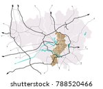 manchester  england  and the... | Shutterstock .eps vector #788520466