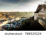 burghausen and old castle  the... | Shutterstock . vector #788525224