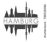 hamburg germany europe skyline... | Shutterstock .eps vector #788528386