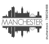 manchester england united... | Shutterstock .eps vector #788528488
