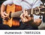 selective focus.hand musician... | Shutterstock . vector #788531326