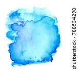colorful abstract watercolor... | Shutterstock .eps vector #788534290