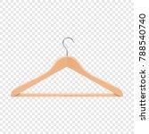 realistic vector clothes coat... | Shutterstock .eps vector #788540740
