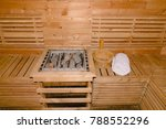sauna room with traditional... | Shutterstock . vector #788552296