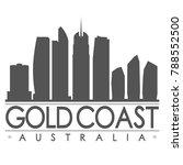 gold coast australia oceania... | Shutterstock .eps vector #788552500