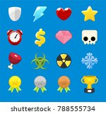 collection of various icons for ...