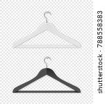 realistic vector clothes coat... | Shutterstock .eps vector #788558383