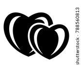 heart love icon. simple...