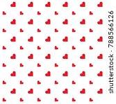 heart sign   symbol pattern... | Shutterstock .eps vector #788566126