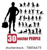 vector set of 30 very detailed... | Shutterstock .eps vector #78856675
