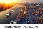 logistics and transportation of ... | Shutterstock . vector #788567296