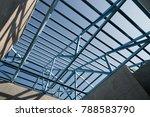structure of steel roof frame... | Shutterstock . vector #788583790