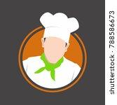 chef icons illustration ...   Shutterstock .eps vector #788586673