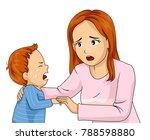 illustration of a mom... | Shutterstock .eps vector #788598880