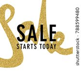 sale promotion luxury banner ... | Shutterstock .eps vector #788599480