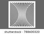 decorative card for cutting....   Shutterstock .eps vector #788600320